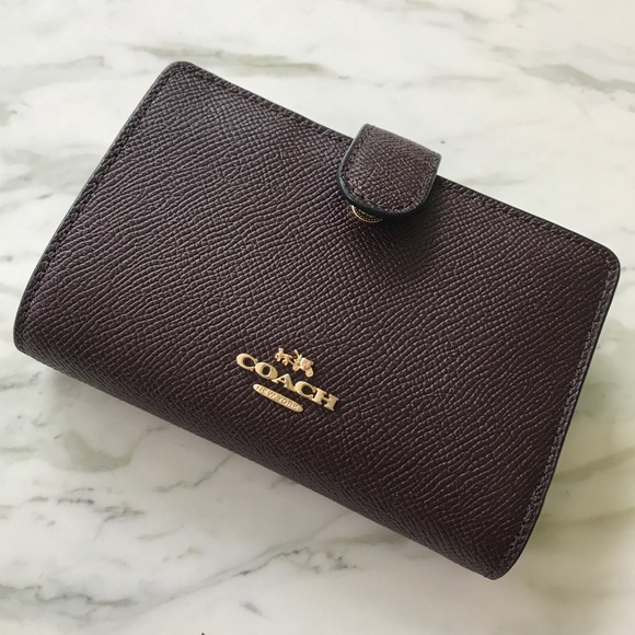 Coach Handbags - Pebbled Leather Coach Wallet